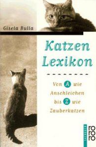 """Buchumschlag Gisela Bulla """"Katzenlexikon"""", Rowohlt-Verlag"""